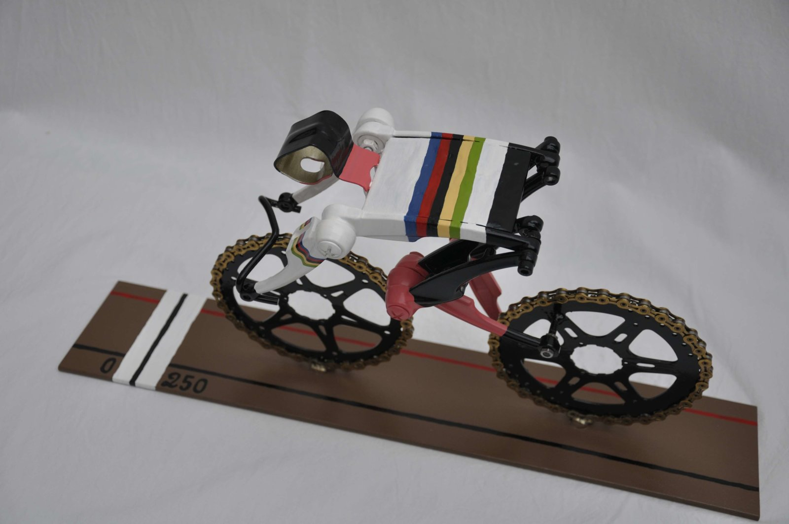 Cycle Art Rainbowjersey Track Cycling Sprinter Made By Decreatievelink