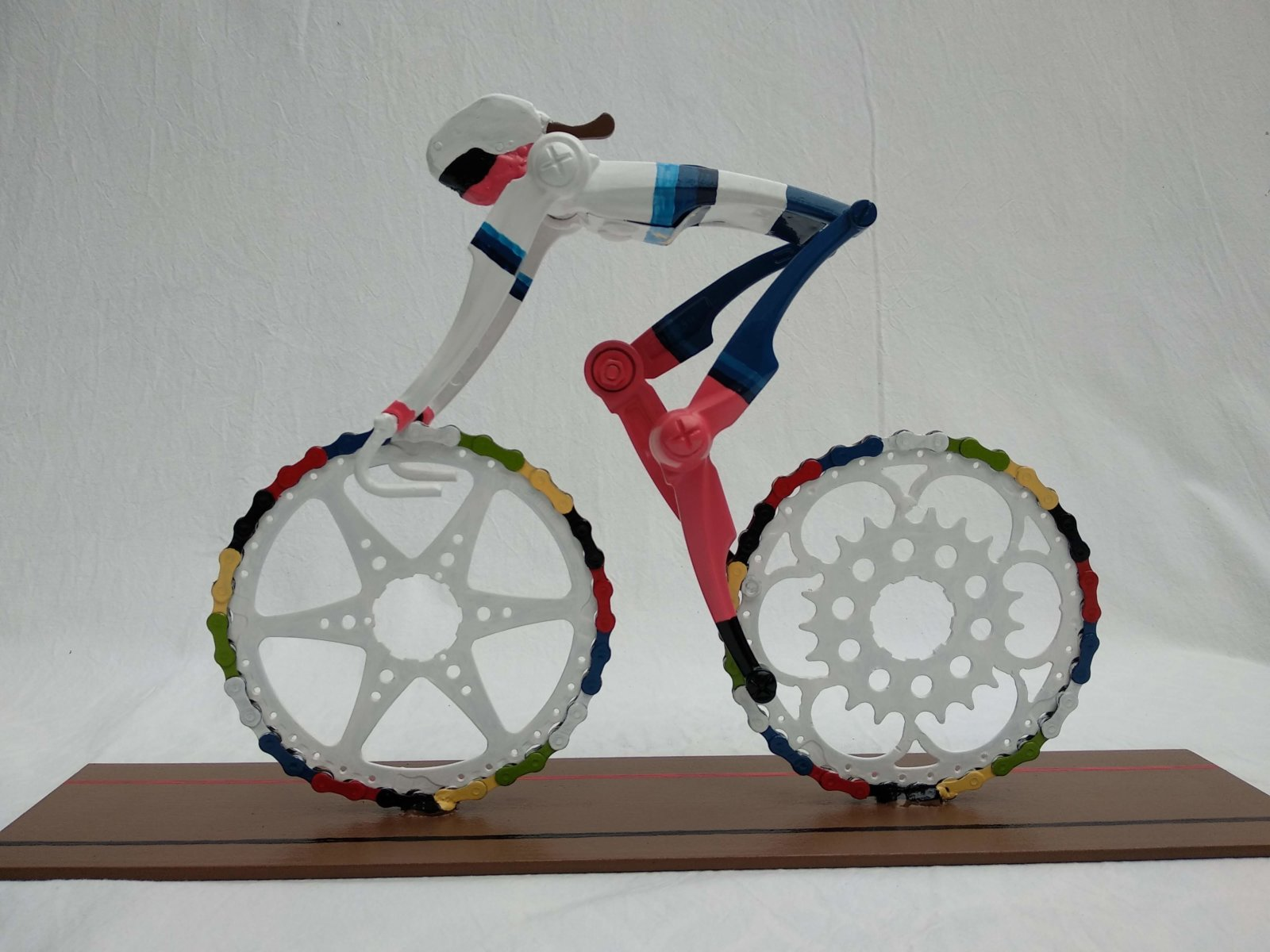 Cyclingart Female Cyclist Champion Europe Road Track Cycling Decreatievelink