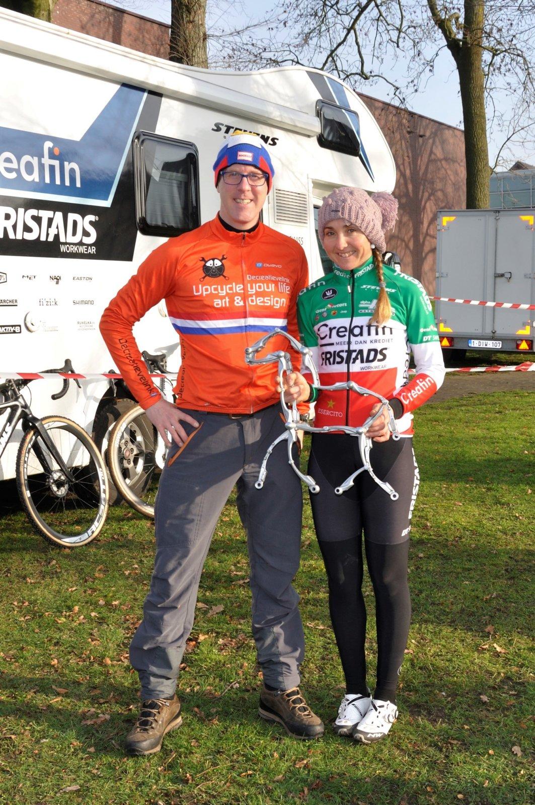 Cyclingartist Decreatievelink With Italian XCross And MTB Champion Eva Lechner