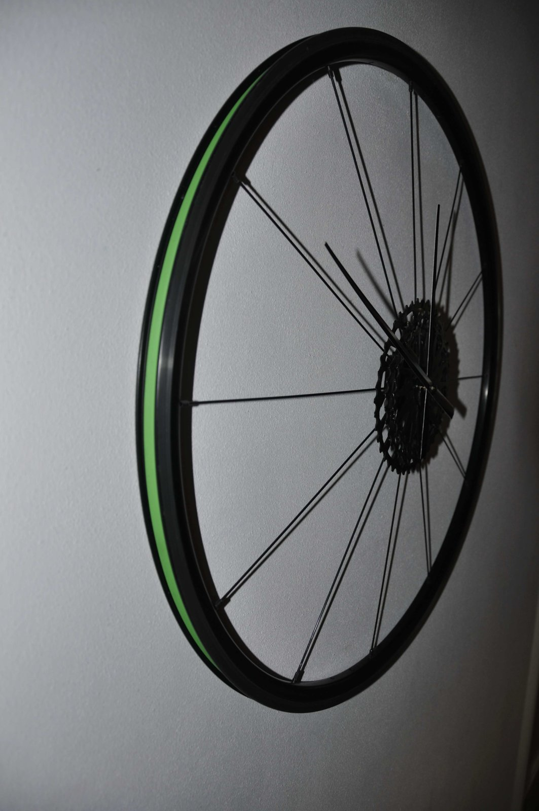 Detail Rim With Green Rimtape Sustainable Cyclingart Duurzaam Fietskunst