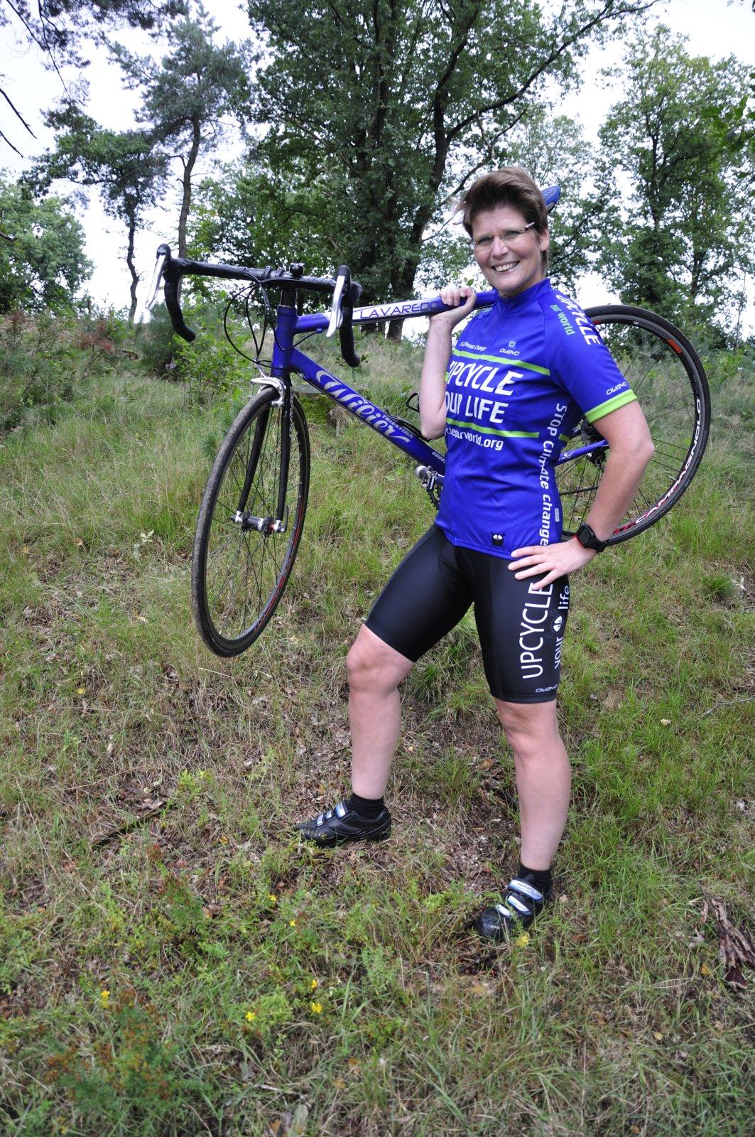 Fraukje Steffen Is De Eerste Wielerbabe Van Cyclingteam Upcycle Your Life