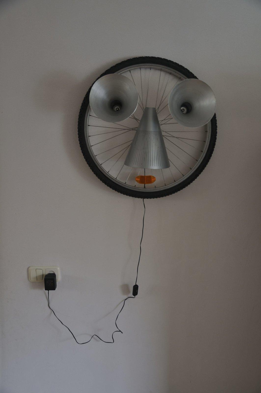 GeenGezichtaandeWandlamp