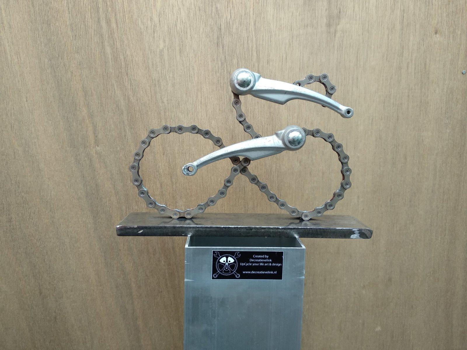 Kunstwerk Amore Infinito Giro D\'italia Bicycle Art Decreatievelink Art & Design