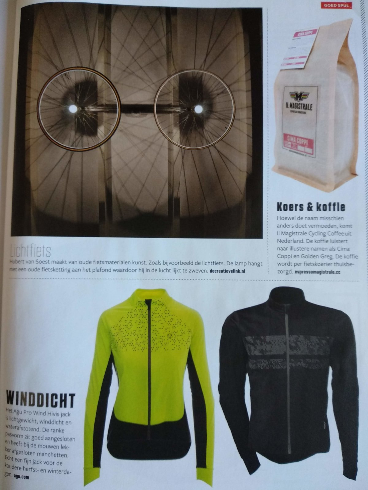 Lichtfiets Made By Decreatievelink In Bicycling Magazine Nr 3 Jaargang 2017