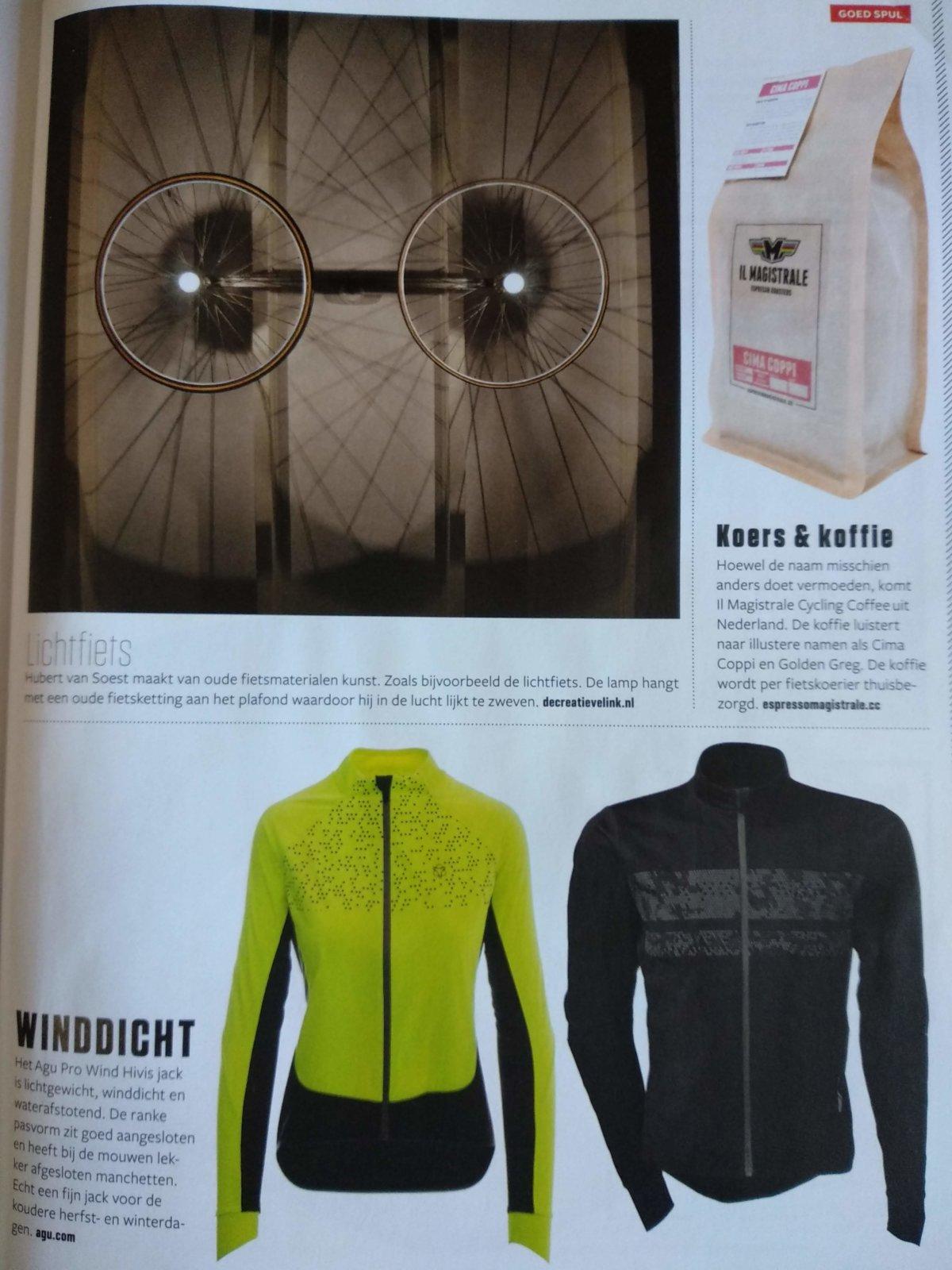 Lichtfiets Made By Decreatievelink In Bicycling Magazine Nr 3 Jaargang 2017