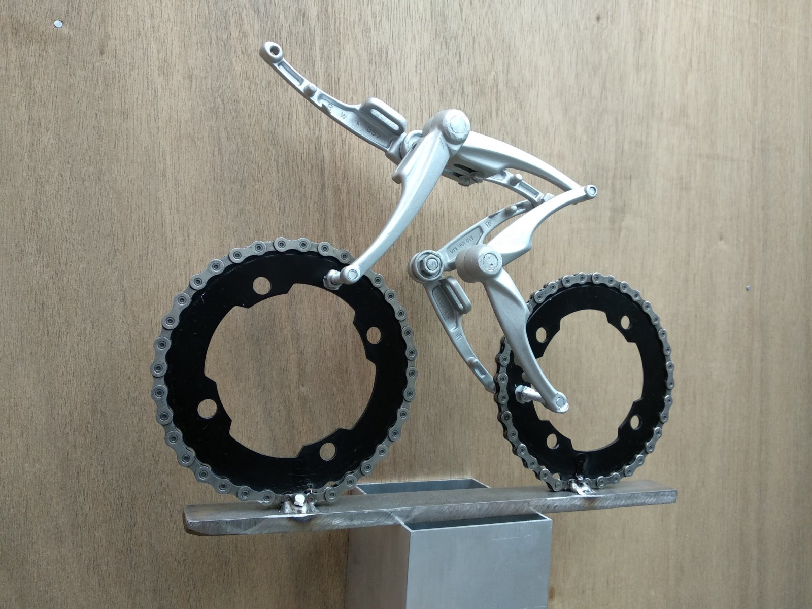 Oropa! Cyclist Made By Decreatievelink Upcycle Your Life Art & Design