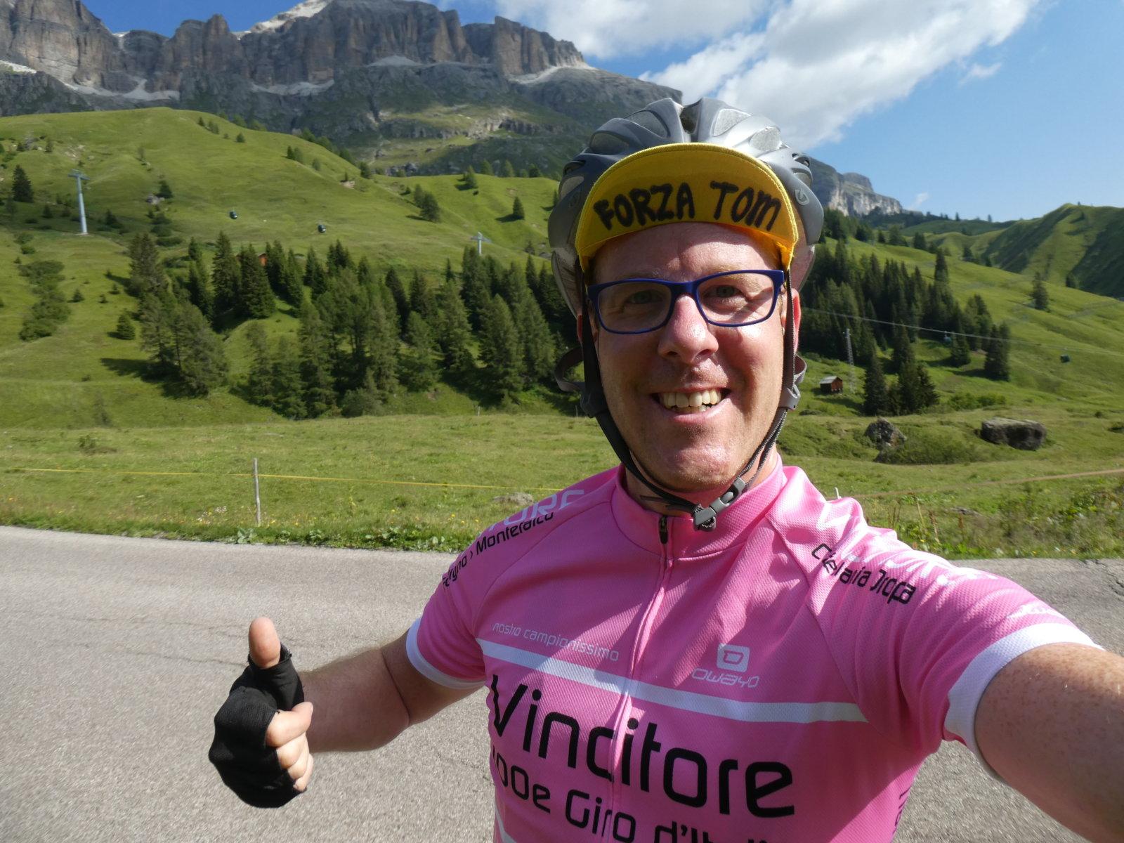 Vincitore Upcycle your life giro 2017 wielershirt