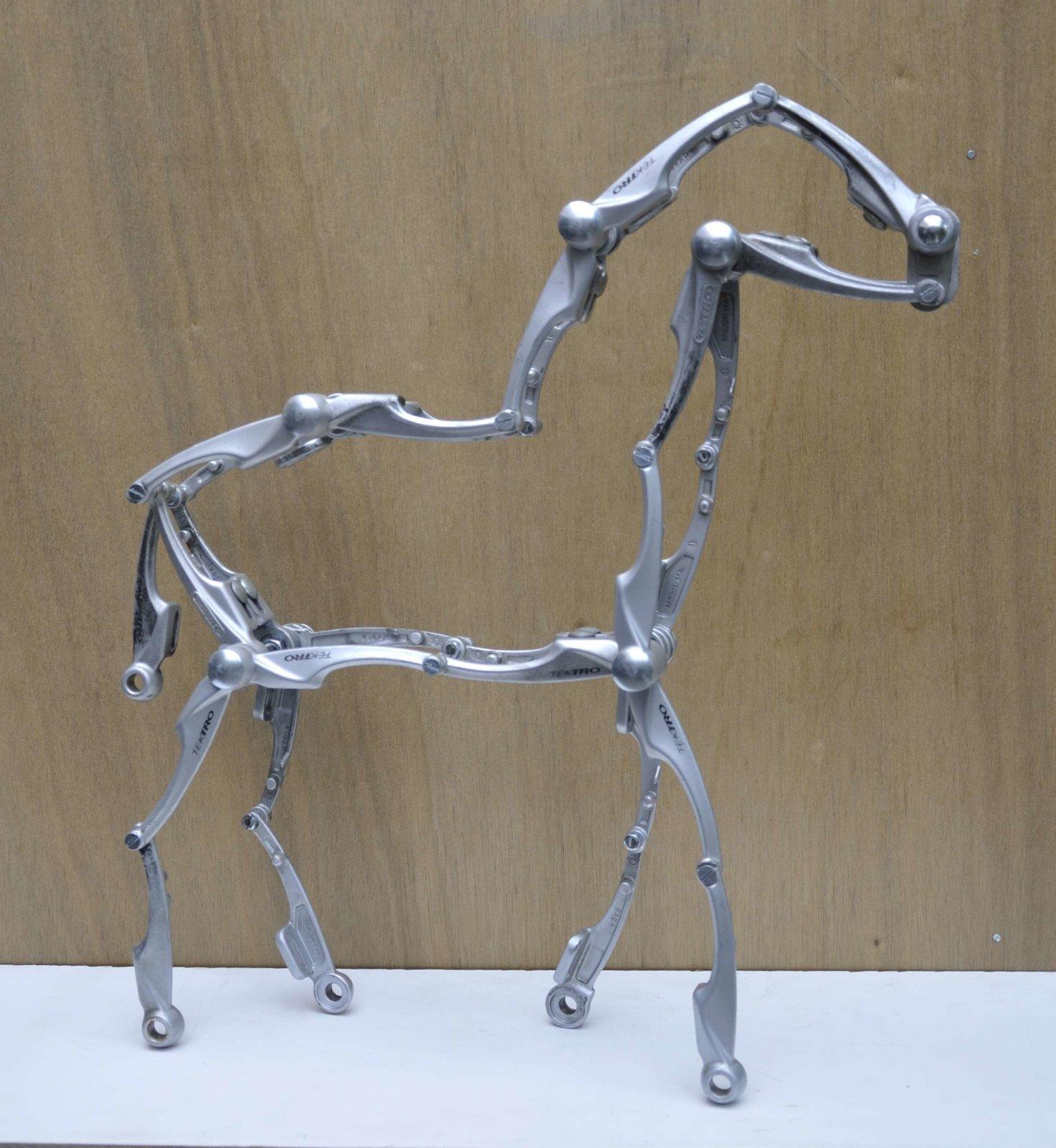 Paard Horse Pferd Cheval Cavallo Caballo Da Vinci Decreatievelink Fietskunst