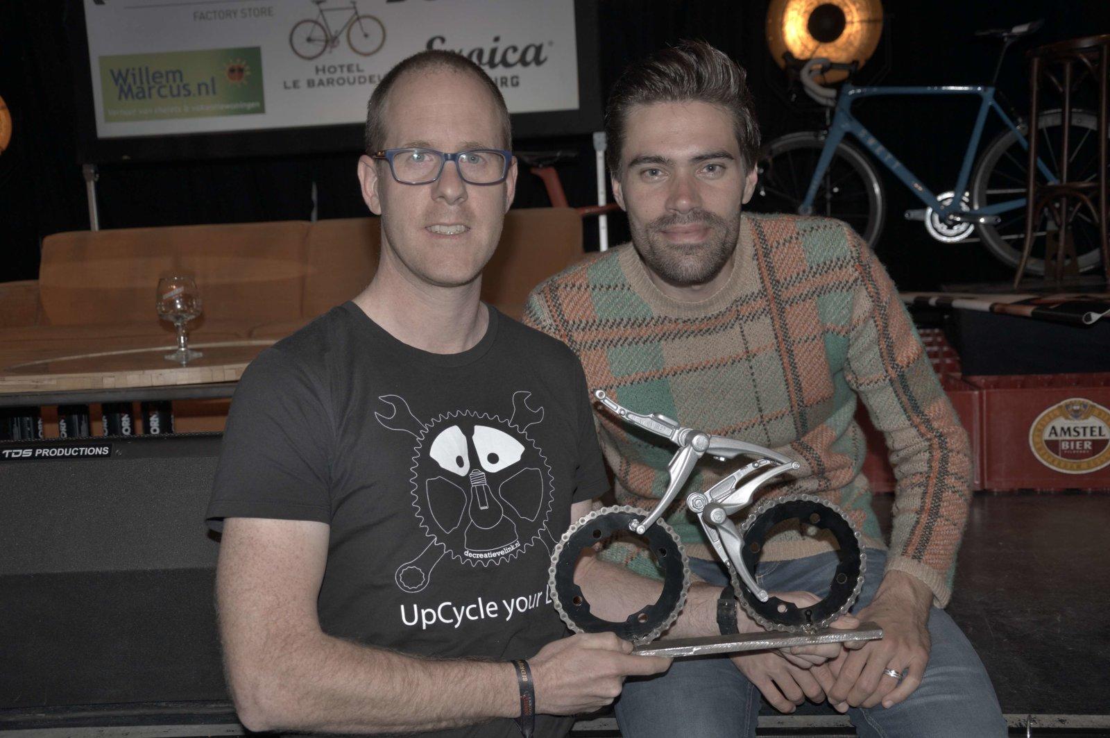 Oropa! Cyclist For Roel Klieverik Inspired By Tom Dumoulin Created By Decreatievelink