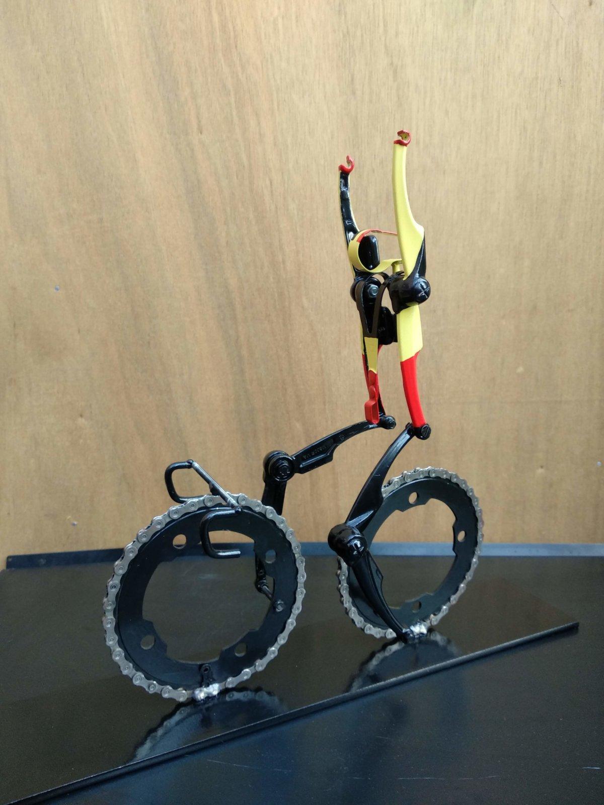 Victory! In The Belgium Tricolore Cyclingart By Hubert Van Soest