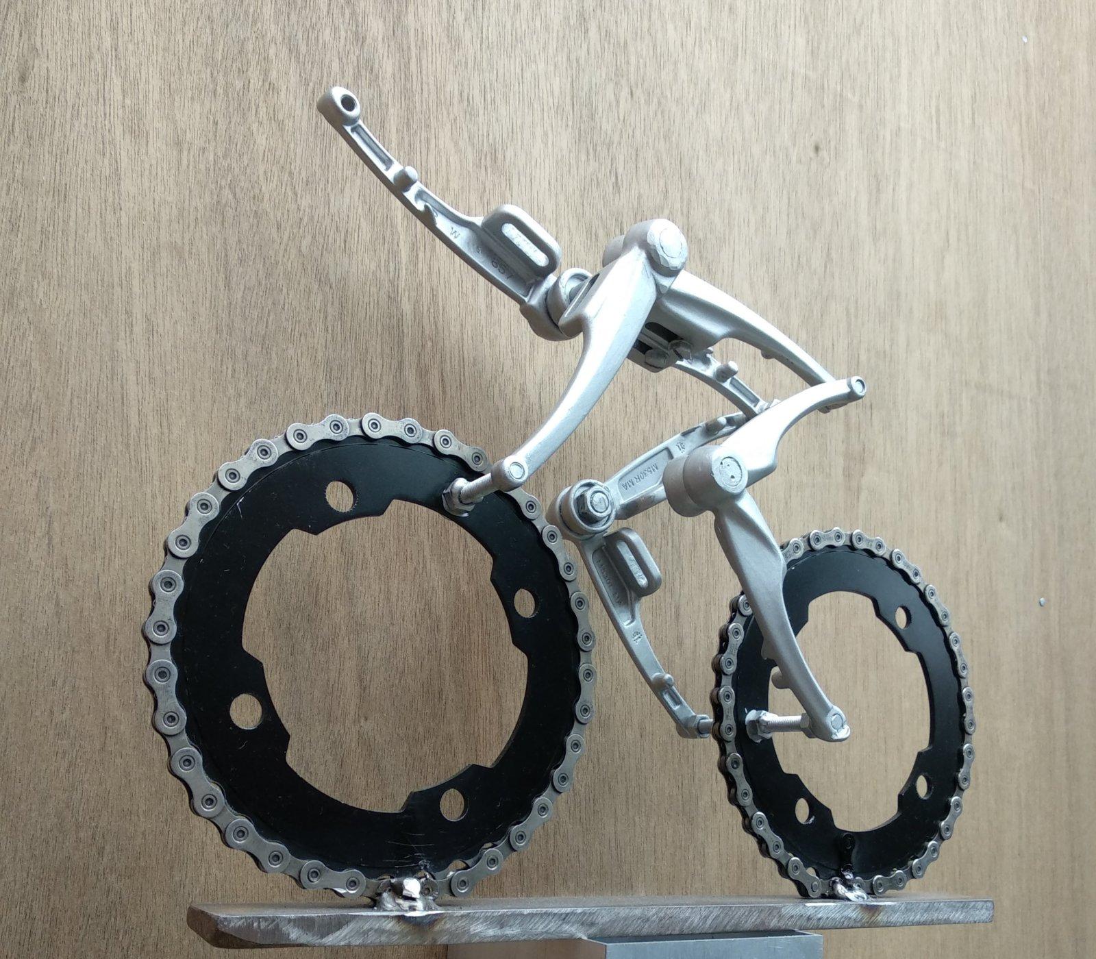 Fietskunst Bicycle Art Tom Dumoulin Etappezege Oropa Giro D\'italia 2017