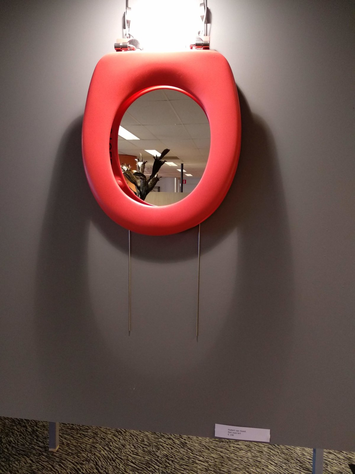 Kunstwerk Een Roze Bril Created By Decreatievelink Upcycle Your Life Art & Design