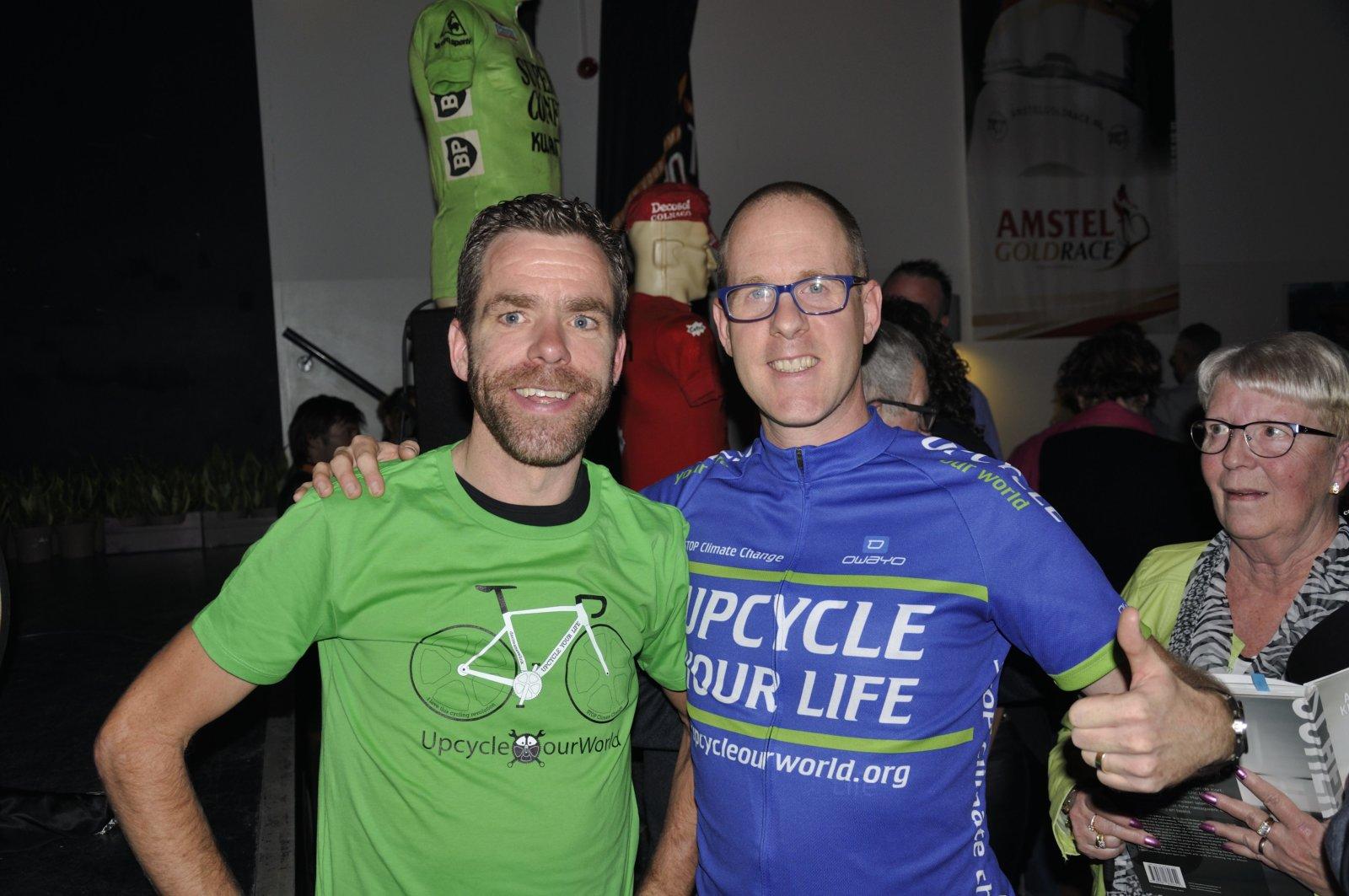 Milieubewuste Wielrenner Bram Tankink Word Beschermheer Vd Duurzame Fietsbeweging Cyclingteam Upcycle Your Life