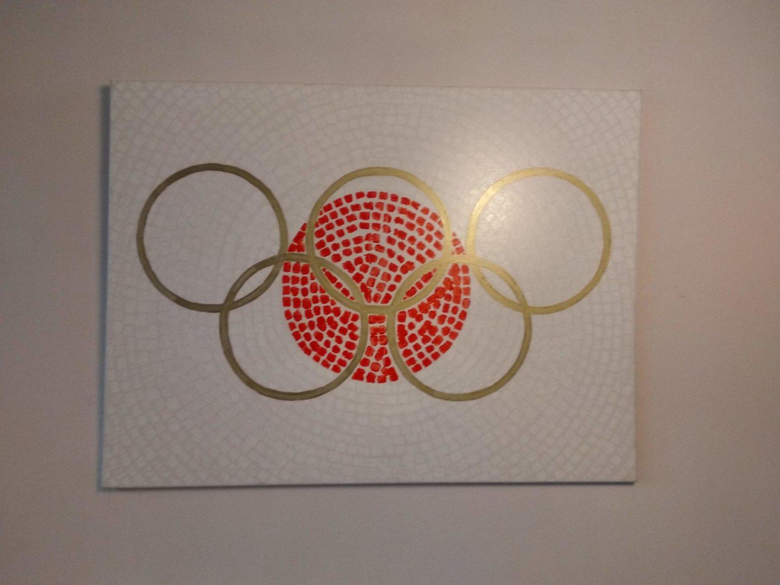 Schilderij Dromen Van Olympisch Goud In Tokio Decreatievelink