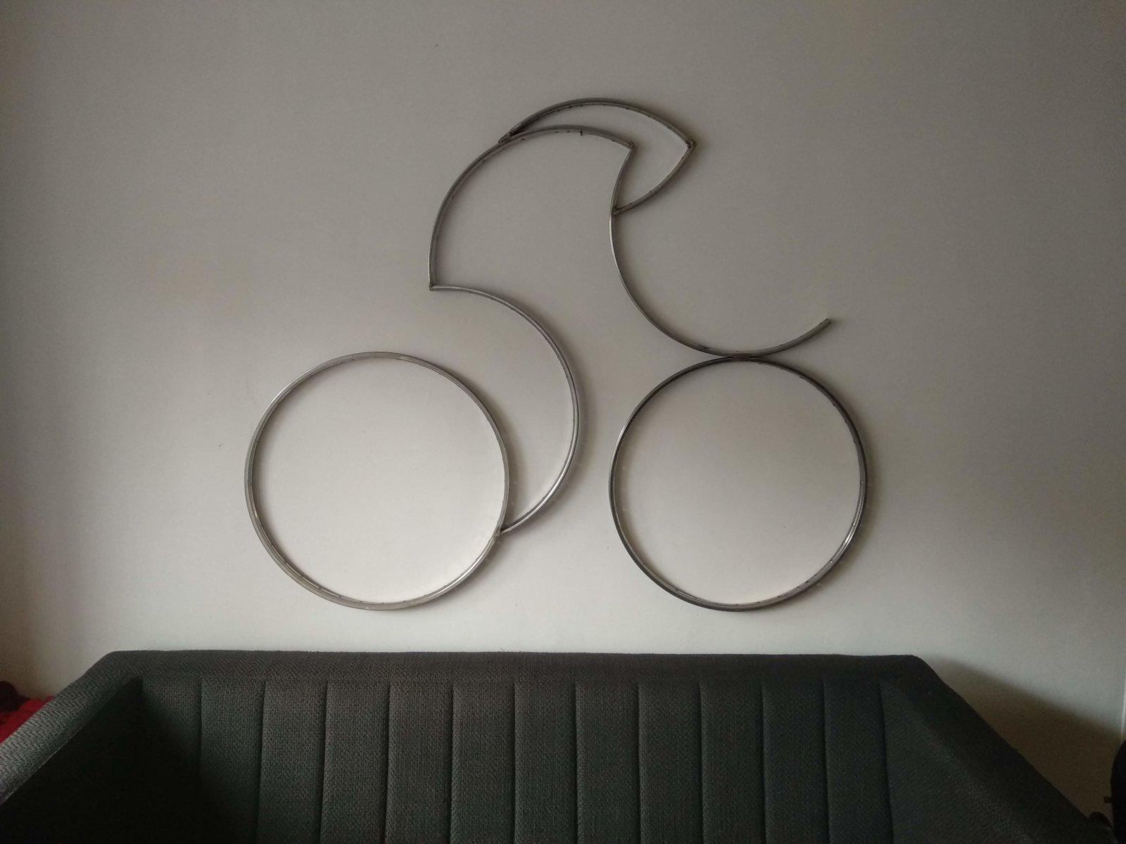 Sculptuur Tijdrijder Wielrenner Time Trail Cyclist