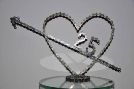 sculptuur 25 Years mariage 25 jarig huwelijk