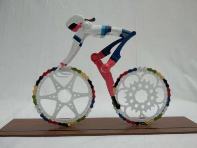 Cyclingart Female Cyclist Champion Europe Road Track Cycling Decreatievelink