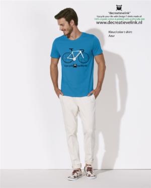 Decreatievelink Fair Wear T-shirt Kleur Azur