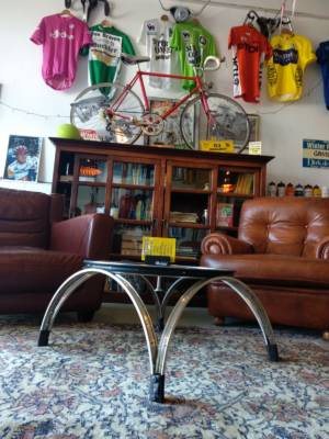 Mesacycletta Fiets Wiel Tafel Wielercafe Doetinchem