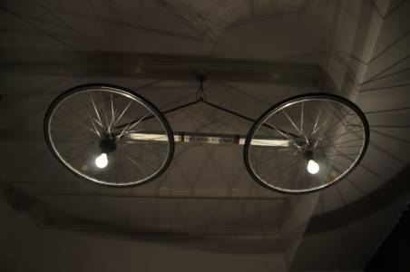 Schaduweffect Lichtfiets In De  Regenboogtrui Lamp