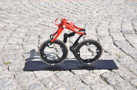 Swiss Champion Cyclist At Via Tremola Gotthardpas Switzerland Cyclingart Hubert Van Soest Decreatievelink