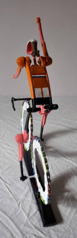 Team NL Wielrenner Rug Fietskunst Decreatievelink