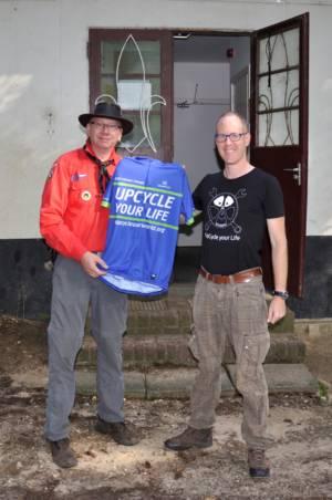 Thijs Verbeek Doet Ook Mee Met De Duurzame Fietsbeweging Cyclingteam Upcycle Your Life!