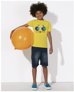 Upcycle Your Life Kids T-shirt Maize Yellow