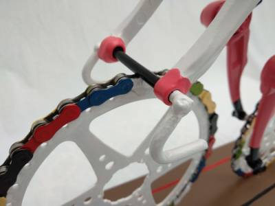 Cyclist Handlebar Cyclingart Decreatievelink Upcycle Our World Project