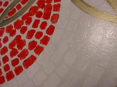 Detail Dromen Van Olympisch Goud Geschilderd Met Remblokjes