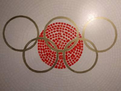 Dromen Van Olympisch Goud Fietskunst Schilderij Hubert Van Soest