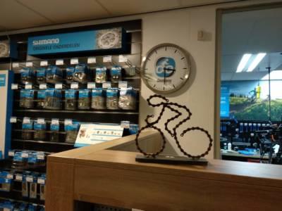 Fietskunst Fietser Shimano Ketting Goossens Velp Decreatievelink Bicycle Art