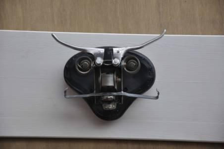 Herr Schnurrbart Fietskunst Muurkunst Kleerhanger Decreatievelink