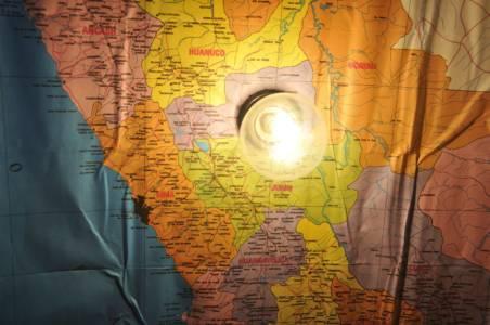 Kofferlamp Peru Inside Map Made By Decreatievelink