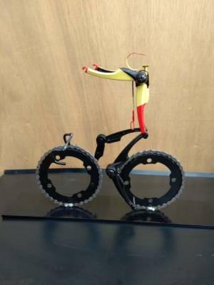 Overwinning In De Belgische Driekleur Fietsculptuur Decreatievelink