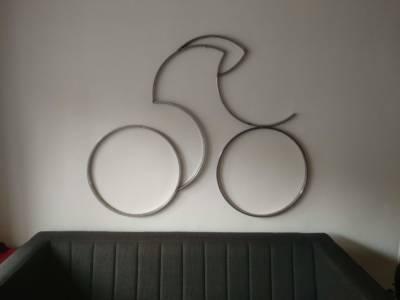 Sculptuur Tijdrijder Wielrenner Time Trial Cyclist