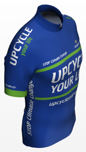 Upcycle Your Life Shirt Rechterzijkant