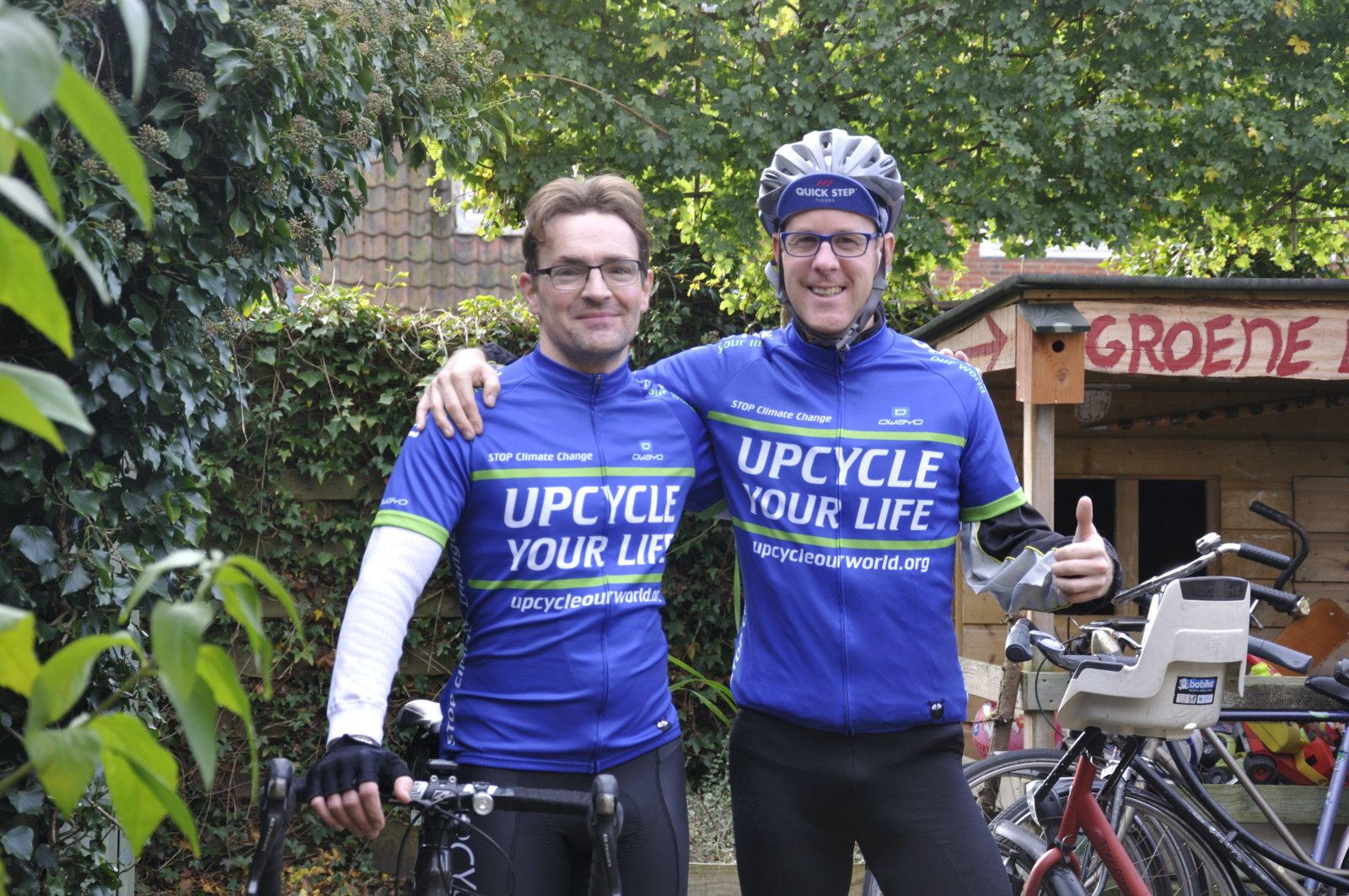 Upcycle Your Life Ambassadeurs Martijn Deiman En Hubert Van Soest