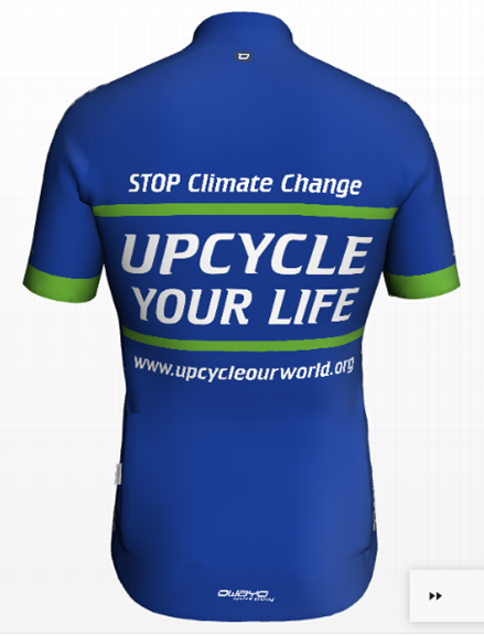 Upcycle Your Life Shirt Achterkant