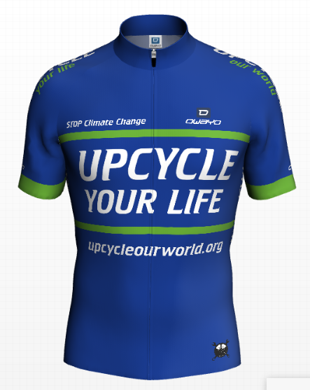 Upcycle Your Life Shirt Voorkant